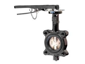 "BFV204LTB311HL0 4"" butterfly valve, Lug Style with EPDM Liner"