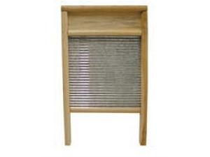 """Magnolia Brush LARGE WASH BOARD 12-1/2"""" W x 23-1/4"""" L Galvanized Wash Board"""