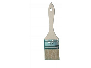 "Magnolia Brush 233 2"" White Bristles Low Cost Paint and Chip Brush"