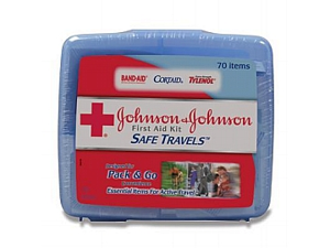 8274 Johnson & Johnson Safe Travels First Aid Kit
