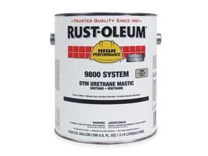 RustOleum 9844419 Safety Yellow Urethane Mastic,Size:1 Gal.