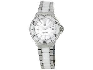 Tag Heuer Formula 1 White Ceramic Ladies Watch WAH1213BA0861