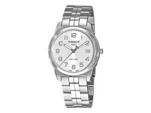 Tissot PR 100 Silver Dial Bracelet Mens Watch T0494101103201