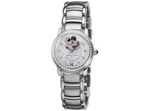 Frederique Constant Womens Automatic Stainless Steel Watch