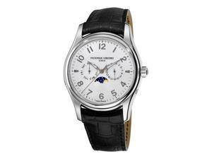 Frederique Constant Runabout Automatic Moonphase Mens Leather Strap Watch FC-360RM6B6