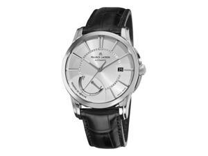 Maurice Lacroix Pontos Reserve De Marche Mens Leather Strap Automatic Watch PT6168-SS001-131