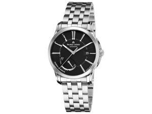 Maurice Lacroix Pontos Men's Stainless Steel Black Dial Watch