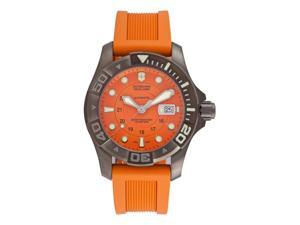 Victorinox Swiss Army Dive Master Mens Orange Automatic Watch 241354
