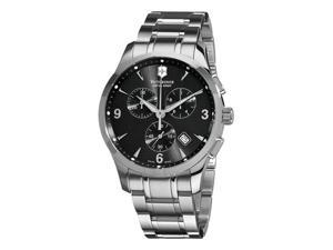Victorinox Swiss Army Classic Alliance Mens Stainless Steel Chronograph Watch 241478