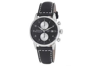 Zeno Mens Magellano Black Dial Chronograph Automatic Watch