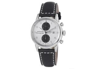 Zeno Mens Magellano Silver Dial Chronograph Automatic Watch
