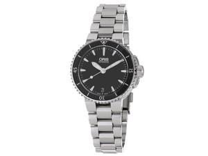 Oris Women's 'Divers' Stainless Steel Bracelet Automatic Watch