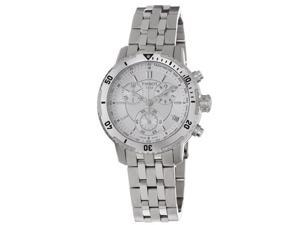 Tissot Mens PRS-200 Silver Dial Stainless Steel Watch