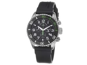 Zeno Mens Divers Black Dial Black Strap Chronograph Watch 6492-5030Q-A1-8