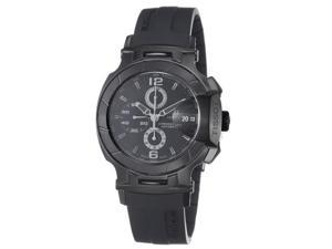 Tissot Mens T Race Black Stainless Steel Black Rubber Strap Watch T0484273705700