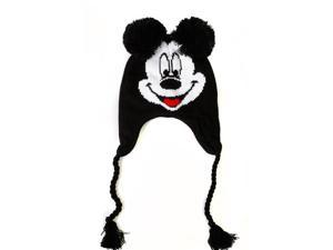 Disney Mickey Mouse Knit Peruvian Laplander Hat
