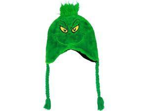 Dr. Seuss's The Grinch Fuzzy Laplander Peruvian Cap