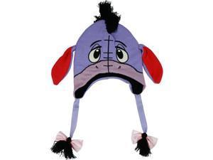 Disney Winnie the Pooh Eeyore Donkey Knit Peruvian Laplander Cap