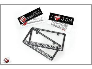 Password:JDM License Plate Frames & Bumper Stickers