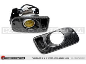 Password:JDM Dry Carbon Fiber Fog Light Covers (EG 92-95 Civic 2DR)