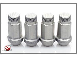 Password:JDM Aluminum Lug Nuts Silver (16 Pack Extended Close End) 12 x 1.5