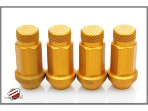 Password:JDM Aluminum Lug Nuts Gold (20 Pack Extended Close End) 12 x 1.5