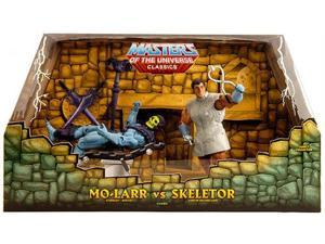 HeMan Masters of the Universe - Classics Exclusive Boxed Set Mo Larr and Skeletor
