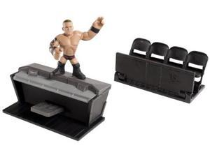 Mattel WWE Rumblers Figure with Ringside Takedown Playset
