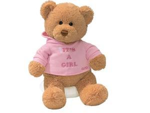 Enesco Its A Girl Bear Plush - 7.5 Inches