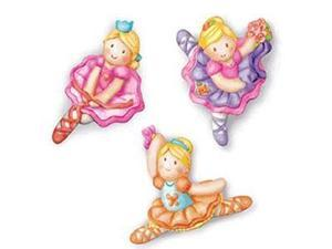 Toysmith Childrens Craft Kits - Mould and Paint Glitter Ballerina