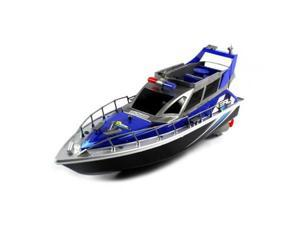4 CH Police Airship RTR RC Boat w/ Rechargeable Batteries - Blue