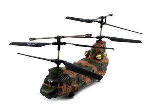 Electric Full Function 2.4GHz 3CH GYRO SYMA S34 Chinook RTF RC Helicopter (Colors May Vary)