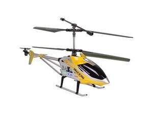 SYMA S033G Gyro Metal Frame Coaxial 3 Channel R/C Helicopter - Yellow