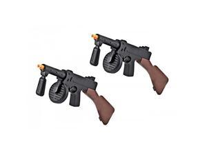 Duel Toy Tommy Guns (Set of Two) Toy Guns for kids, toy gun combo set