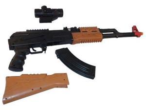 AK74 Assault Rifle with Firing sounds, lights, and vibrations toy guns for kids, toy gun, good quality toy gun, cool toy ...