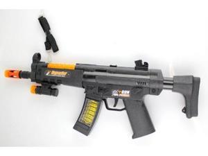 MP5 TOY GUN WITH SOUNDS LIGHTS AND BULLETS MOVING toy guns for kids, toy gun