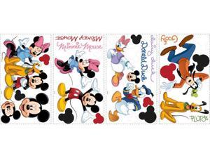 Mickey & Friends Peel & Stick Wall Decals