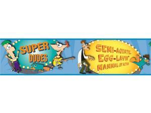 Phineas & Ferb Peel & Stick Border
