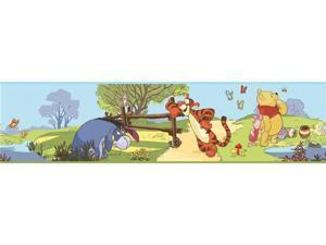 Winnie the Pooh - Pooh & Friends Peel & Stick Border