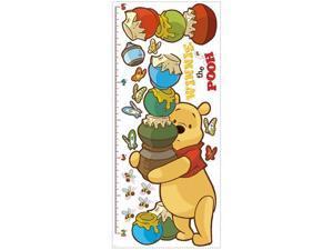 Winnie the Pooh - Pooh Peel & Stick Growth Chart