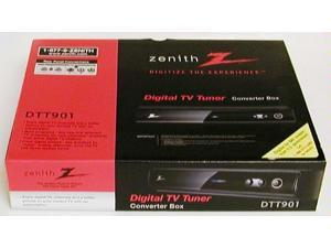 Zenith DTT901 Digital TV Tuner Converter Box