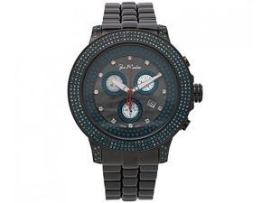 Blue Diamond Watches: Joe Rodeo Pilot Mens Watch 3.15ct