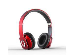 ZORO Fashion Hi-Fi Steel Reinforced Professional Headphone - Red