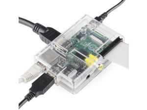 Raspberry Pi with Clear Case by EasyAsPi™