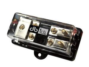 DB Link MANLFB428 4-Gauge In and Two 8-Gauge Out Mini ANL Fuse Block