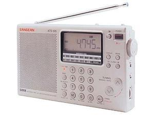 Sangean ATS-505P FM Stereo/MW/LW/SW PLL Synthesized World Receiver