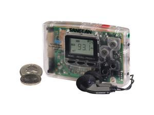 Sangean Portable AM/FM Pocket Radio - Clear DT-110C