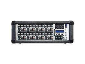 Pyle-Pro PMX802M - 8 Channel 800 Watts Powered Mixer w/MP3 Input