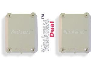WinAerial™ Ultra Wide Band Personal 3G & 4G On-Window Dual Antenna for Sierra Wireless AirCard 754 AC754