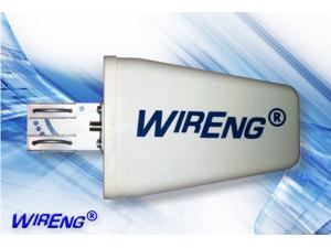 WirEng® AeriaLog-Light-75™ 11.5dB Directional Wide Band Yagi Antenna with F-Female Connector (75 Ohm)